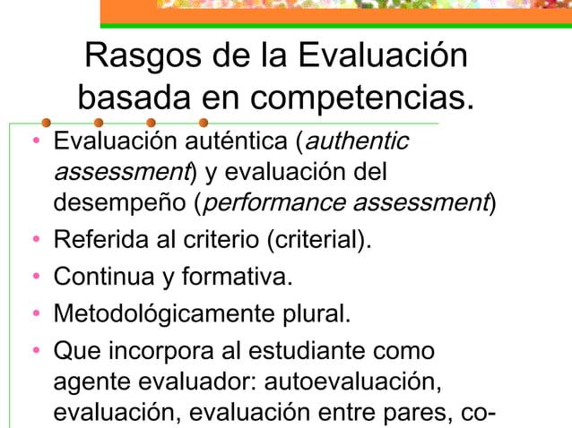 SISTEMA DE EVALUACIÓN (III) • COEVALUACIÓN • En proceso y en determinadas actividades los alumnos participan en el propio ...