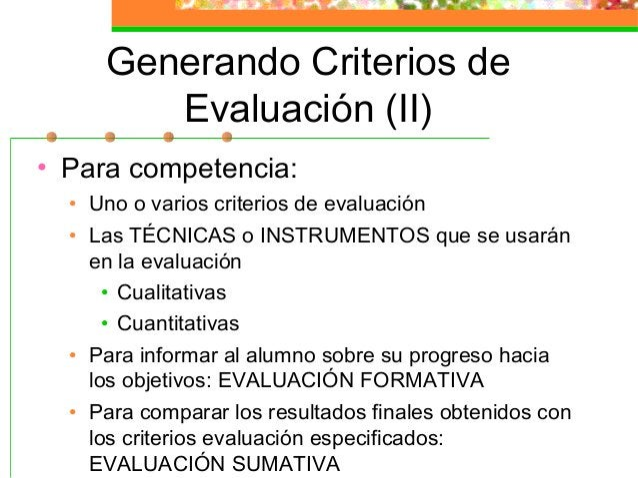 Instrumentos de Evaluación (III) • Cualitativos: • Registros anecdóticos (sucesos • Análisis de documentos • Diarios • Cua...