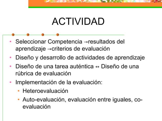 Evaluación por competencias ( fird@unex.es)