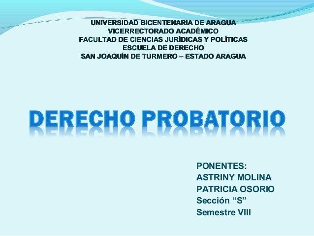 UNIVERSIDAD BICENTENARIA DE ARAGUA VICERRECTORADO ACADÉMICO FACULTAD DE CIENCIAS JURÍDICAS Y POLÍTICAS ESCUELA DE DERECHO ...