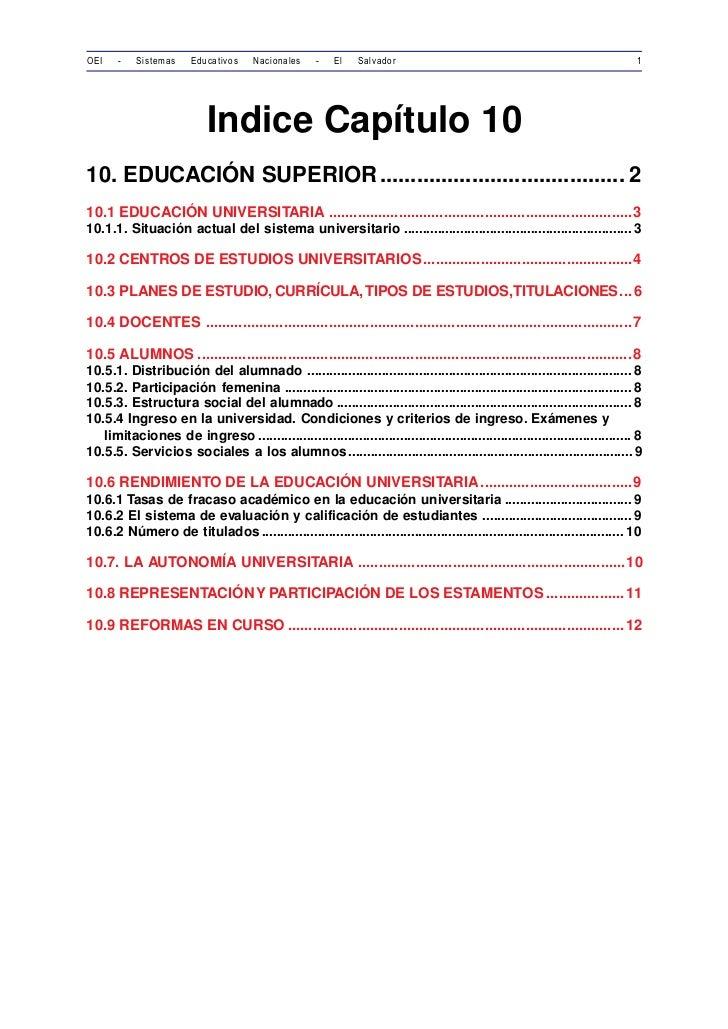 OEI    -   Sistemas     Educativos    Nacionales     -   El   Salvador                                                    ...
