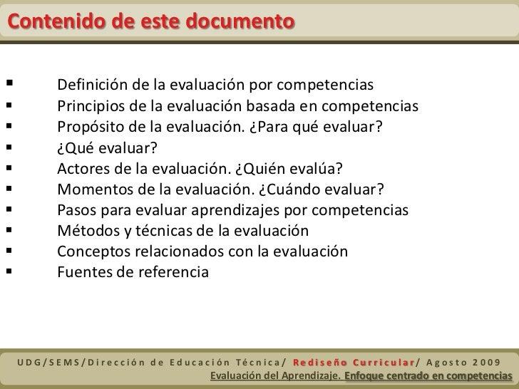 EvaluacióN Competencias Slide 2