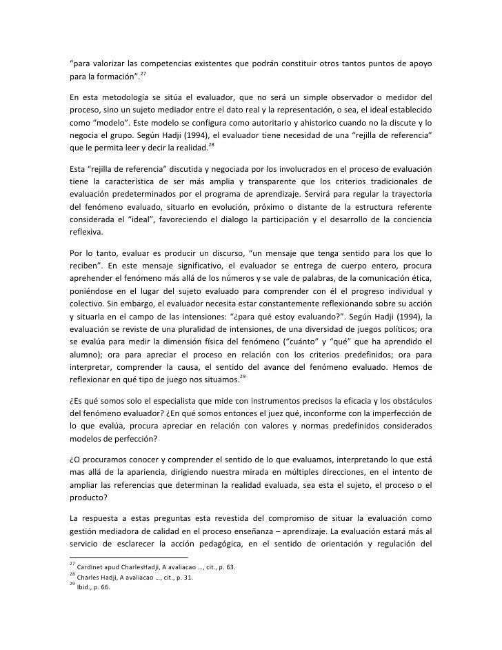 """""""para valorizar las competencias existentes que podrán constituir otros tantos puntos de apoyo para la formación"""".27  En e..."""