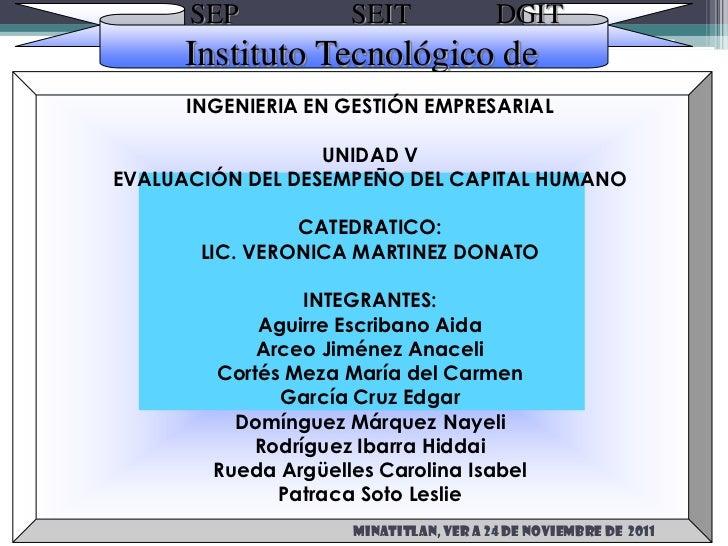 SEP            SEIT               DGIT      Instituto Tecnológico de               Minatitlán      INGENIERIA EN GESTIÓN E...