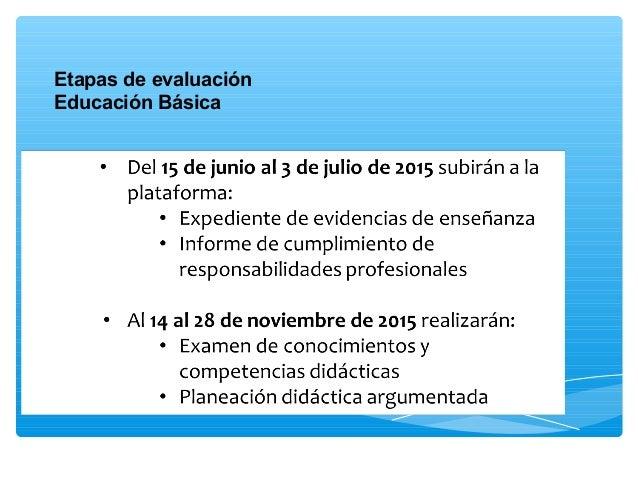 Evaluacion De Desempeo Docente 2015