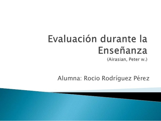 Alumna: Rocio Rodríguez Pérez