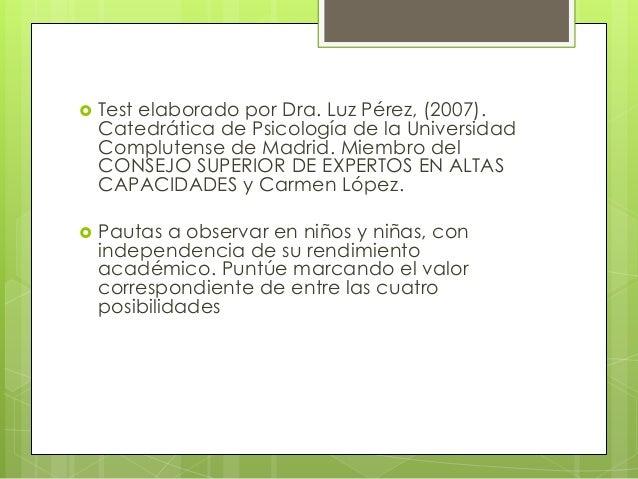 Evaluación psicopedagógica Slide 2