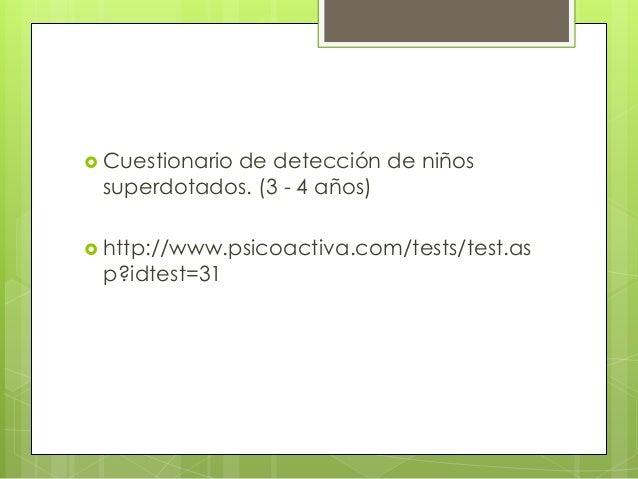 Evaluación psicopedagógica Slide 3