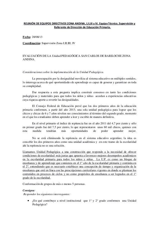 REUNIÓN DE EQUIPOS DIRECTIVOS ZONA ANDINA, I,II,III y IV, Equipo Técnico, Supervisión y Referente de Dirección de Educació...