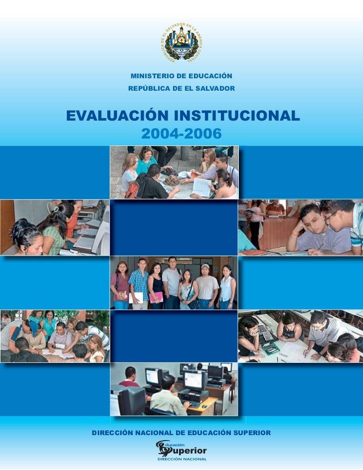 Evaluacion 2004-2006 0-a las universidades