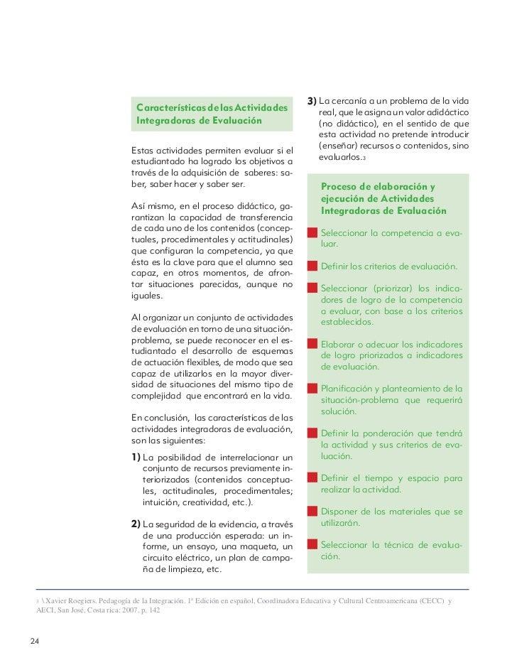 3) La cercanía a un problema de la vida                                Características de las Actividades                 ...