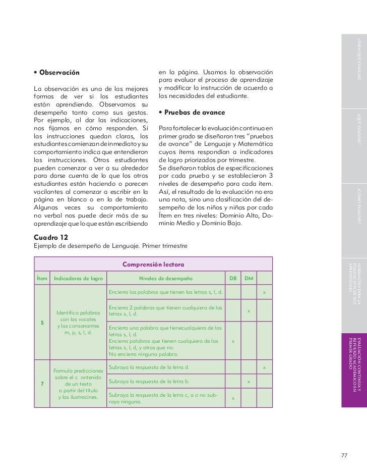 Evaluacion al-servicio-de-los-aprendizajes
