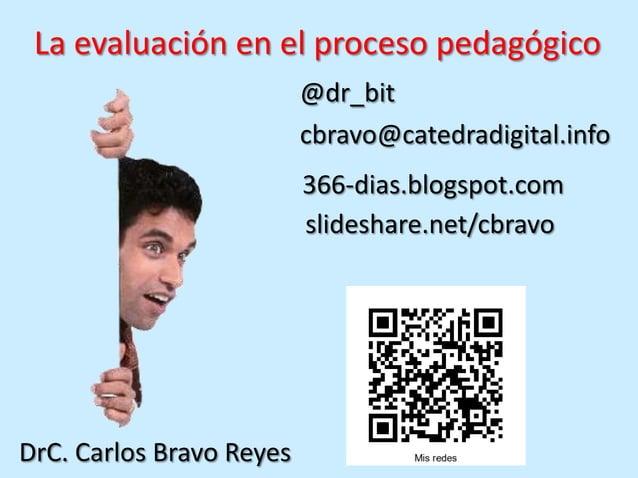 La evaluación en el proceso pedagógico (1)