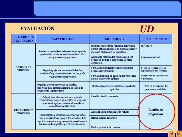CRITERIO DEEVALUACIÓNCAPACIDADES INDICADORES INSTRUMENTOGESTIÓN DEPROCESOSRealiza procesos de estudio de mercado para lapr...