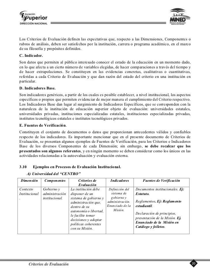 Componente 2.2. Administración.     Criterios:     2.2.1. El perfil académico y administrativo de los responsables institu...