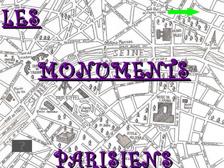 LES   MONUMENTS PARISIENS