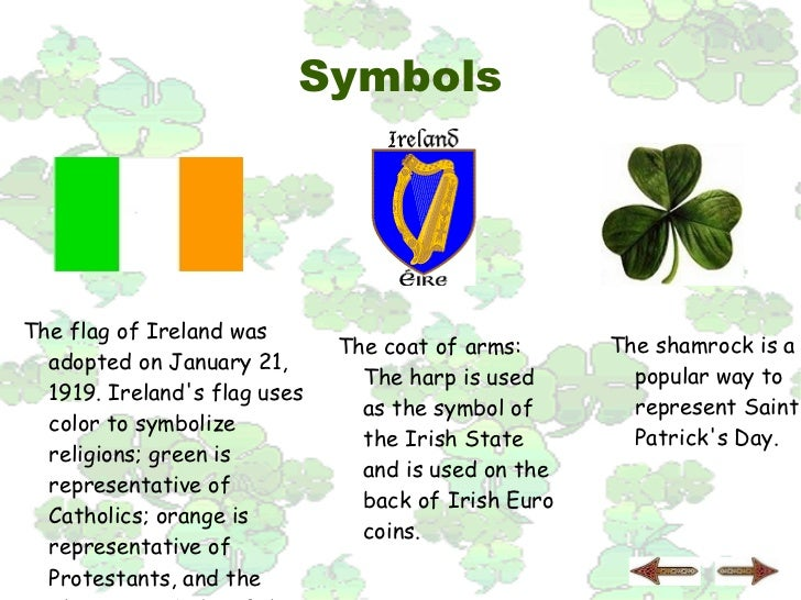 List Of Synonyms And Antonyms Of The Word Irish Culture Symbols