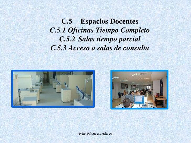 Criterio D: Cuerpo Docente <br />El cuerpo docente debe tener un suficiente número de profesores, con las competencias nec...