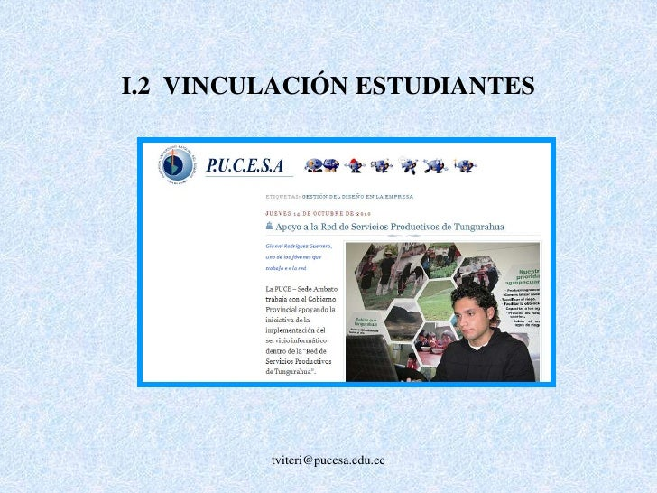H.3 INVESTIGACIÓN DOCENTES TIEMPO COMPLETO<br />tviteri@pucesa.edu.ec<br />