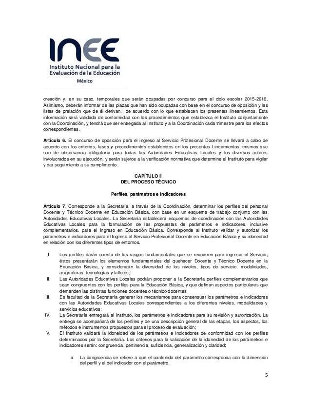 Evaluaci n de ingreso al servicio profesional docente 2015 for Plazas vacantes concurso docente 2016