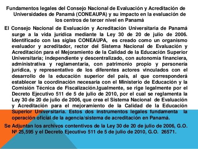 Evaluacion de institucion de educacion superior for Oficina nacional de evaluacion