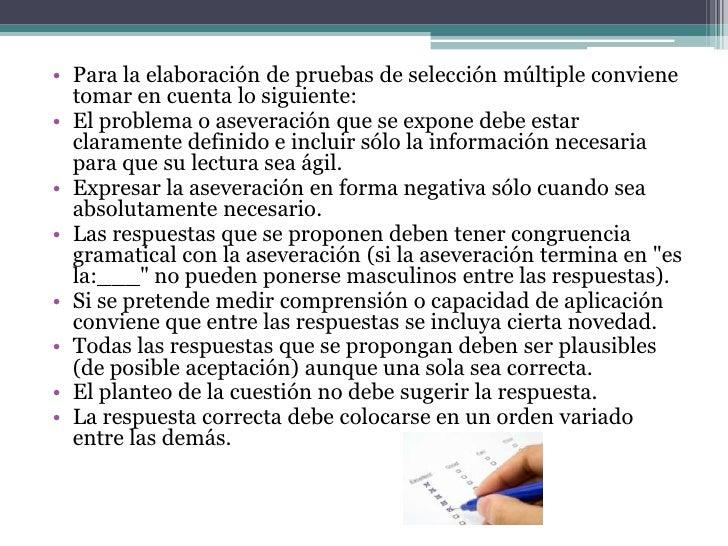 • Prueba de ordenamiento• Consiste en presentar una relación de datos, hechos  o partes de un proceso en sucesión desorden...