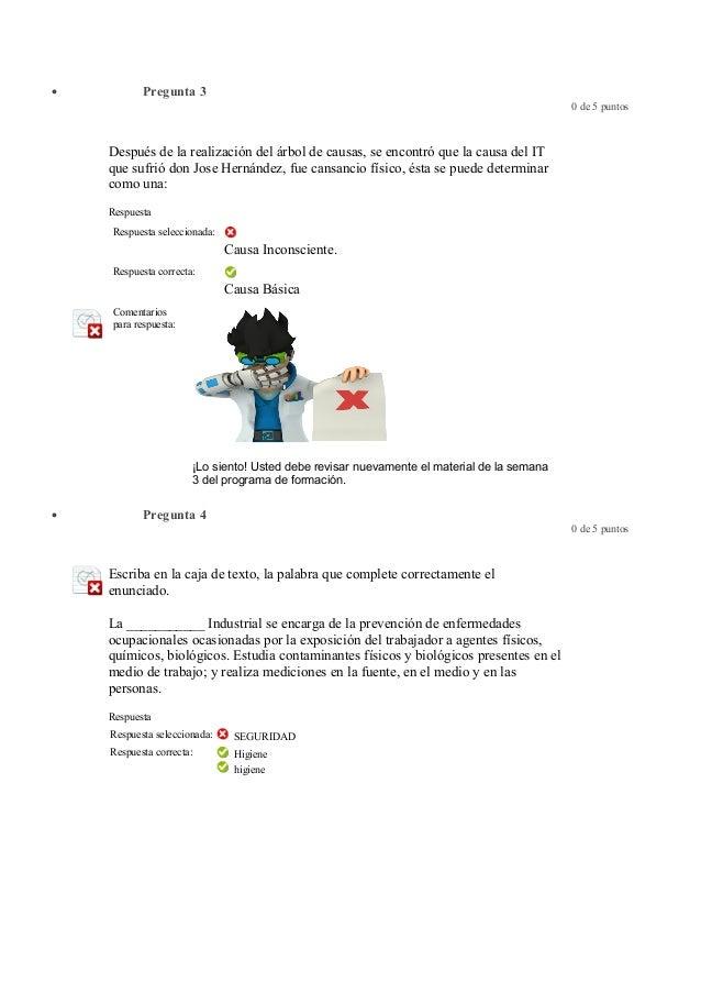 Evaluacion final Salud Ocupacional Slide 2