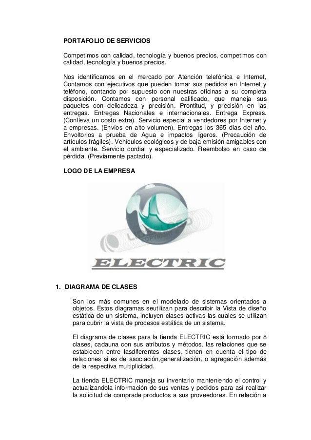 PORTAFOLIO DE SERVICIOS Competimos con calidad, tecnología y buenos precios, competimos con calidad, tecnología y buenos p...