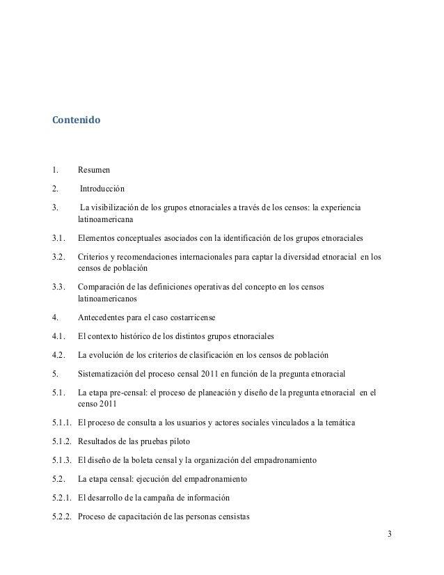 Evaluacion metodologica de la pregunta etnico racial del censo 2011 de costa rica Slide 3