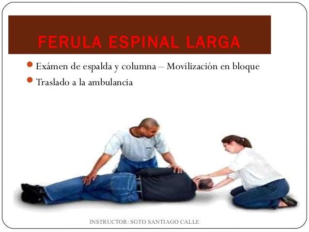 El tratamiento retrolisteza de la columna vertebral