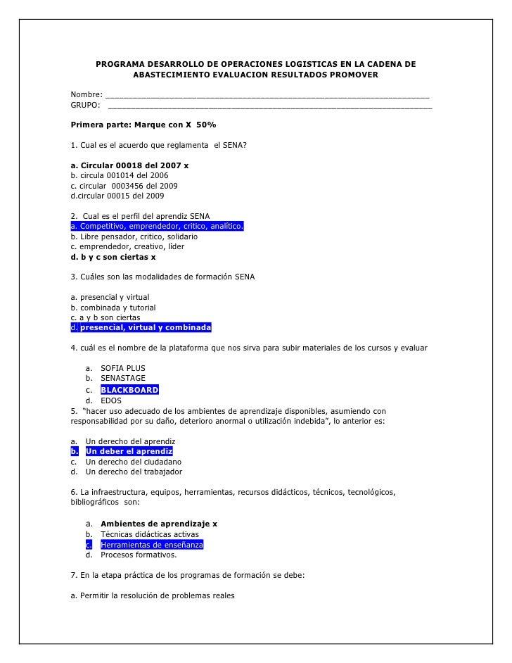 PROGRAMA DESARROLLO DE OPERACIONES LOGISTICAS EN LA CADENA DE              ABASTECIMIENTO EVALUACION RESULTADOS PROMOVER  ...