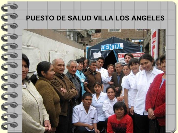 PUESTO DE SALUD VILLA LOS ANGELES