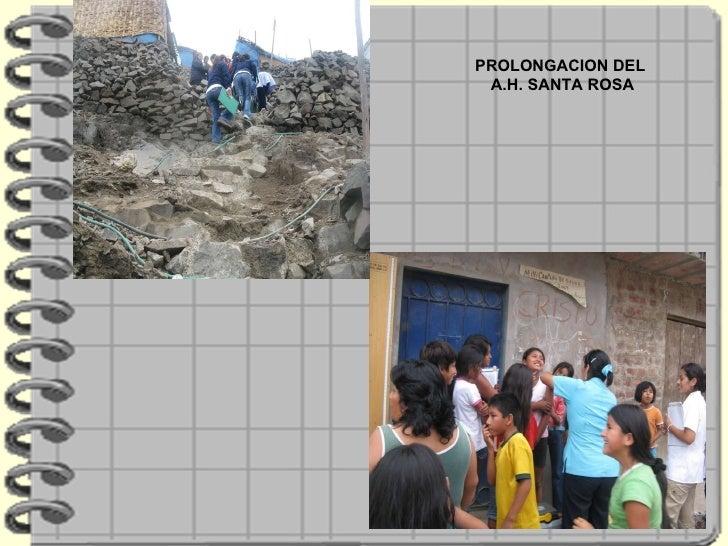 PROLONGACION DEL A.H. SANTA ROSA