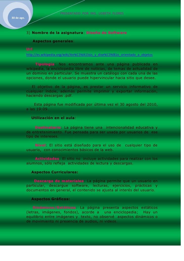 Evaluacion web