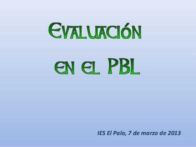 IES El Palo, 7 de marzo de 2013
