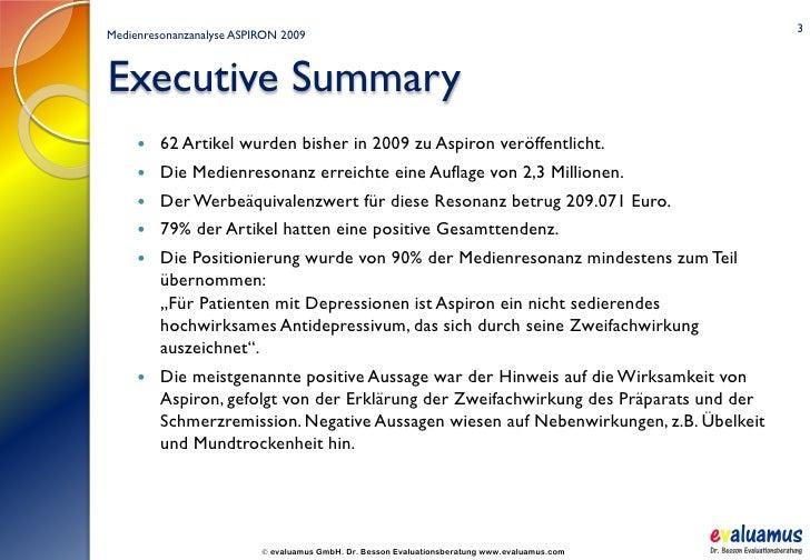 Executive Summary Deutsch