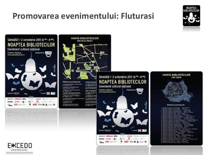 Promovarea evenimentului: Website            Website: www.noapteabibliotecilor.ro