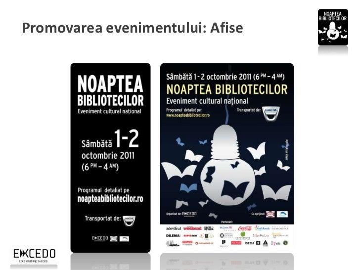 Promovarea evenimentului: Fluturasi