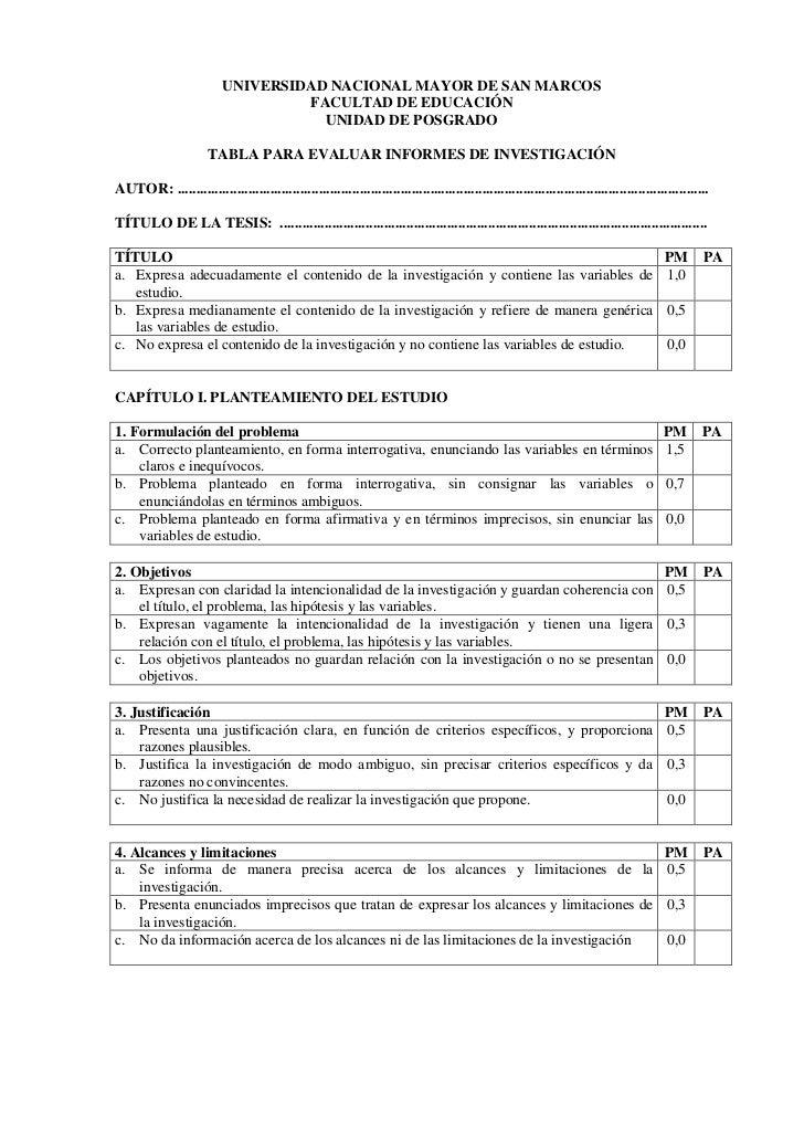UNIVERSIDAD NACIONAL MAYOR DE SAN MARCOS                                    FACULTAD DE EDUCACIÓN                         ...