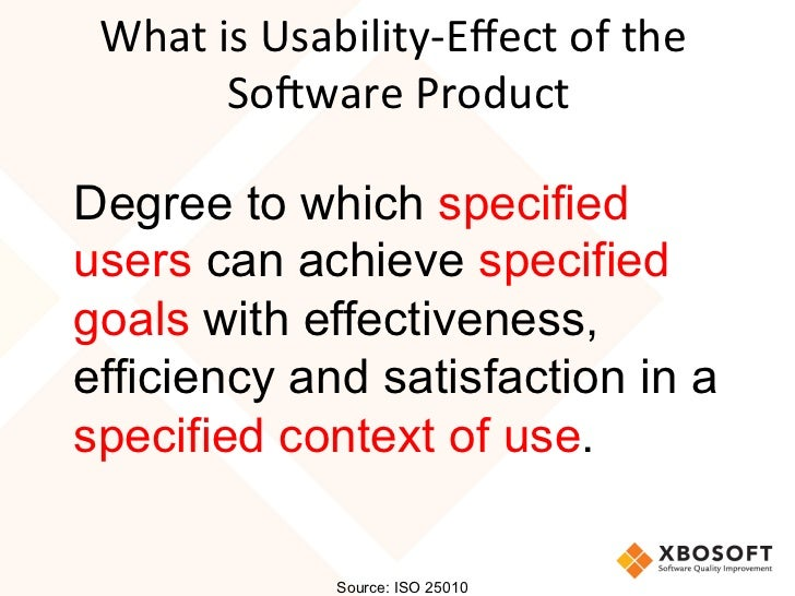 describe how usability and software quality Software quality is a field of study and practice that describes the desirable attributes of more mature software development organizations use tools such as defect leakage usability a fixed software quality model is often helpful for considering an overall understanding of.