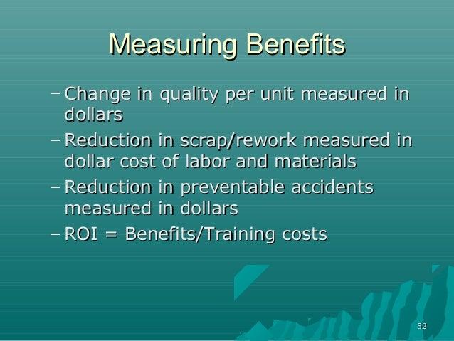5252Measuring BenefitsMeasuring Benefits– Change in quality per unit measured inChange in quality per unit measured indoll...