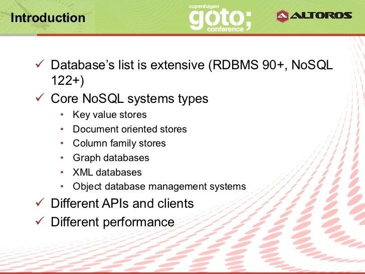 Evaluating NoSQL Performance: Time for Benchmarking Slide 3