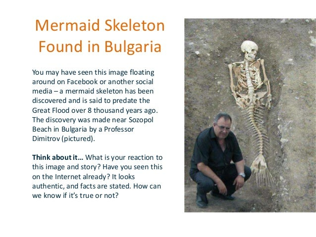 Mermaid Skeleton Found in Bulgaria You may have seen this image floating around on Facebook or another social media – a me...