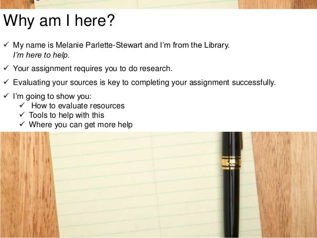 evaluating sources research paper When writing research papers,  3 tips for evaluating primary and secondary sources  when analyzing a source for any research paper,.