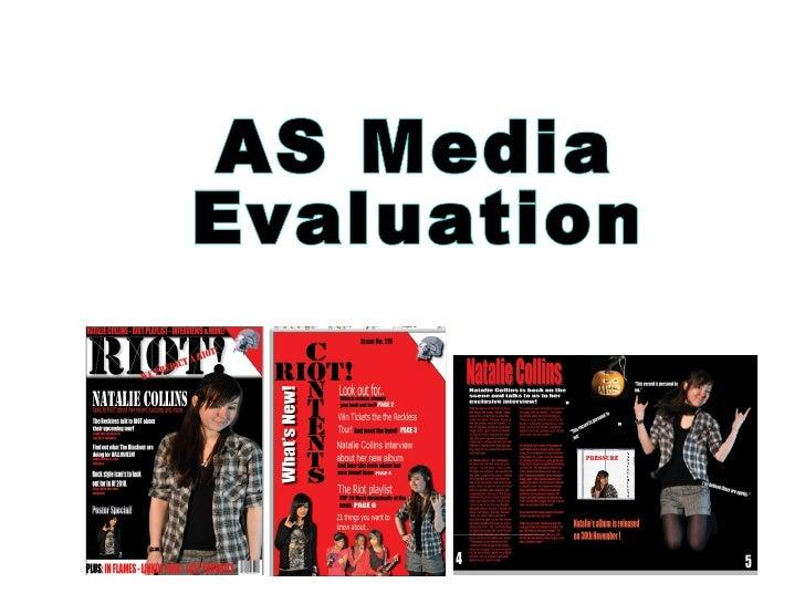 AS Media Evaluation