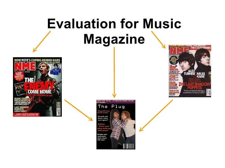 Evaluation For Music Magazine