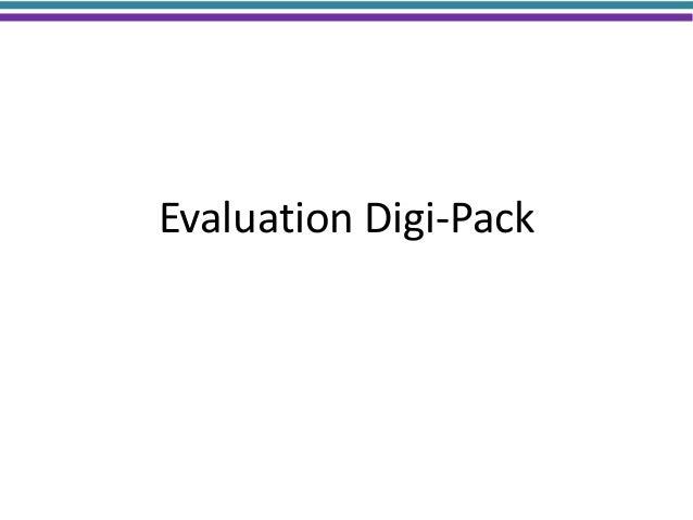 Evaluation Digi-Pack