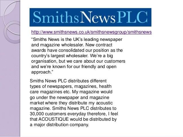 "http://www.smithsnews.co.uk/smithsnewsgroup/smithsnews""Smiths News is the UK""s leading newspaperand magazine wholesaler. N..."