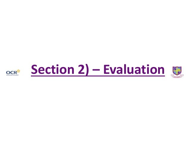 Section 2) – Evaluation