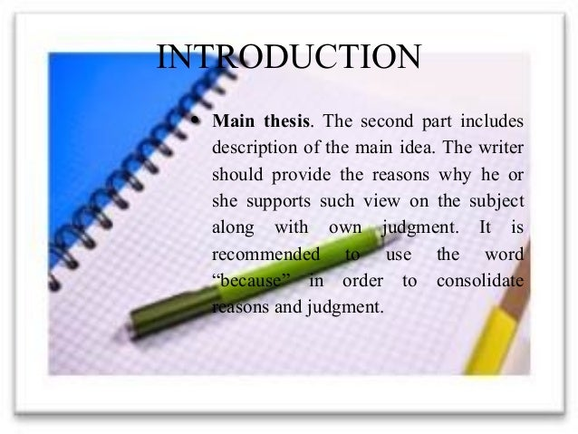 how to write an introduction for an evaluation essay
